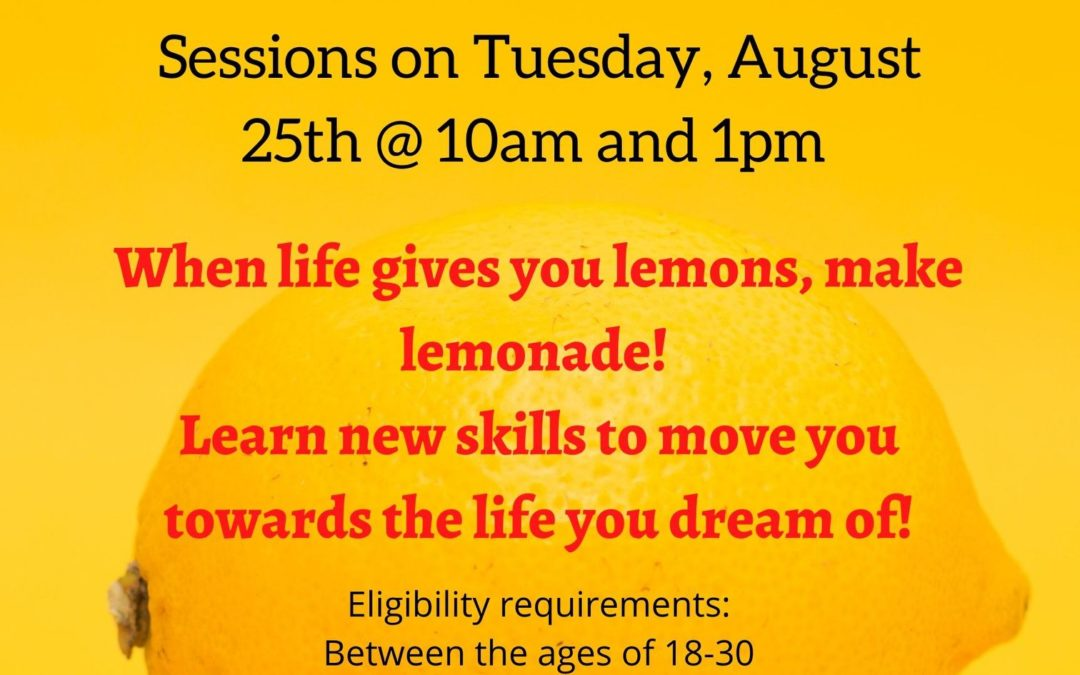 Information Sessions Aug. 25: 2020 Fall Life and Work Management Program